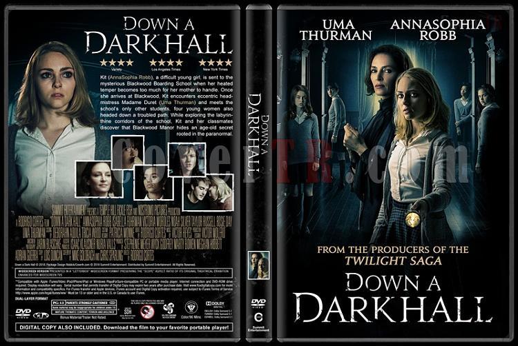 Down a Dark Hall - Custom Dvd Cover - English [2018]-01jpg