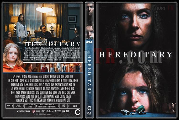 Hereditary (Ayin) - Custom Dvd Cover - English [2018]-01jpg