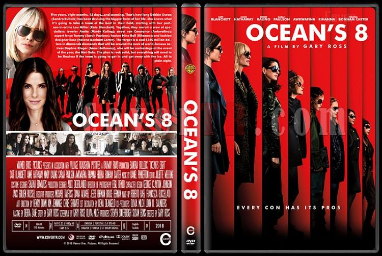 Ocean's 8 - Custom Dvd Cover - English [2018]-01jpg