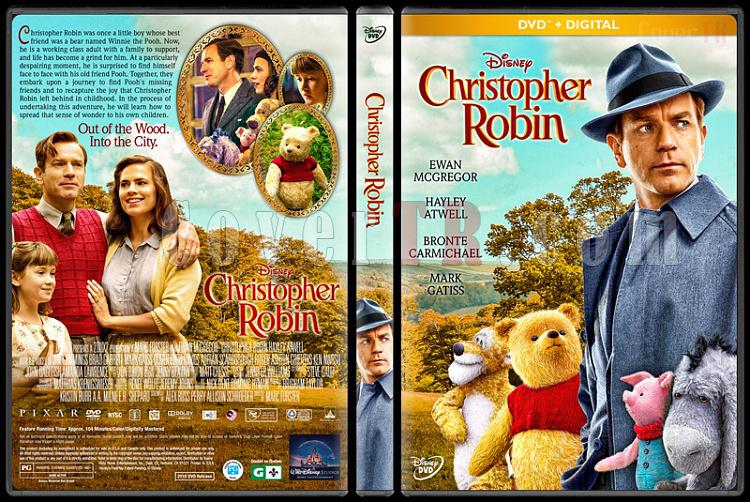 Christopher Robin - Custom Dvd Cover - English [2018]-01jpg