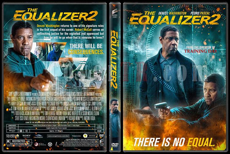 The Equalizer 2 Adalet 2 Custom Dvd Cover English 2018 Covertr
