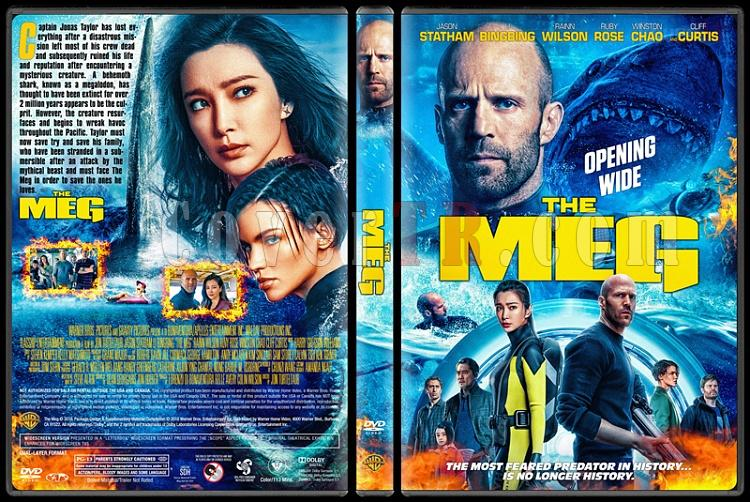 The Meg - Custom Dvd Cover - English [2018]-01jpg