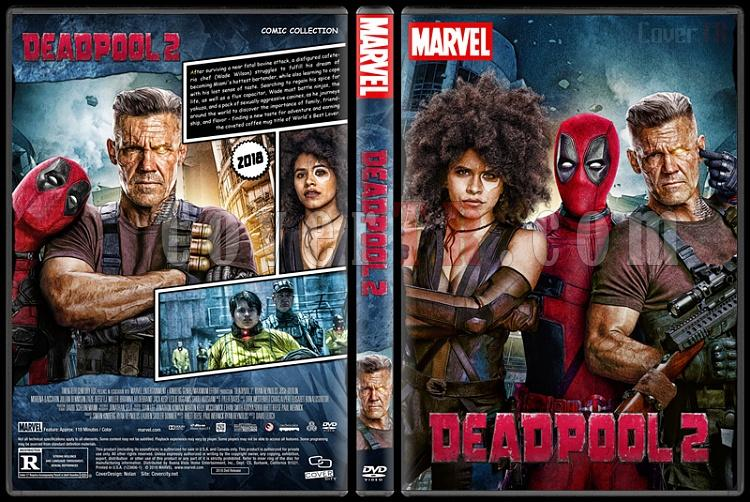 Deadpool 2 - Custom Dvd Cover - English [2018]-02jpg