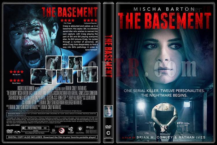 The Basement - Custom Dvd Cover - English [2018]-01jpg