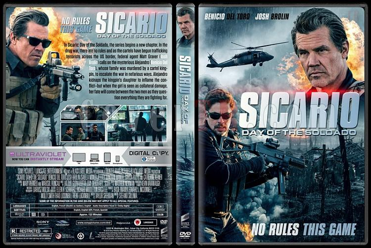 Sicario: Day of the Soldado - Custom Dvd Cover - English [2018]-01jpg