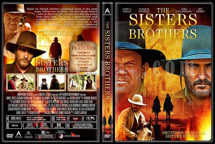 The Sisters Brothers - Custom Dvd Cover - English [2018]-03jpg