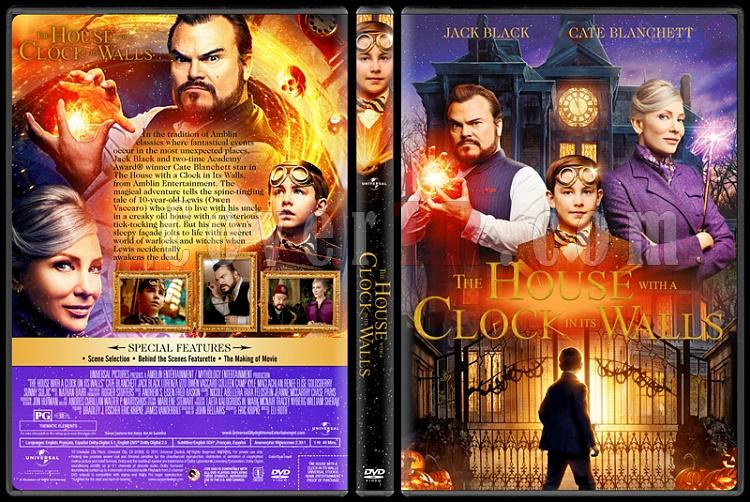 The House with a Clock in Its Walls (Eski Evdeki Büyülü Saat) - Custom Dvd Cover - English [2018]-05jpg