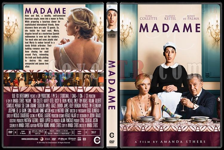 Madame - Custom Dvd Cover - English [2017]-01jpg