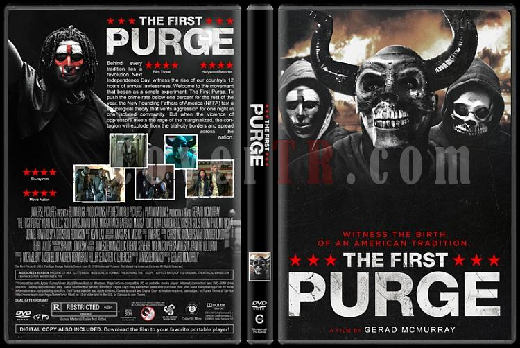 The First Purge (İlk Arınma Gecesi) - Custom Dvd Cover - English [2018]-01jpg