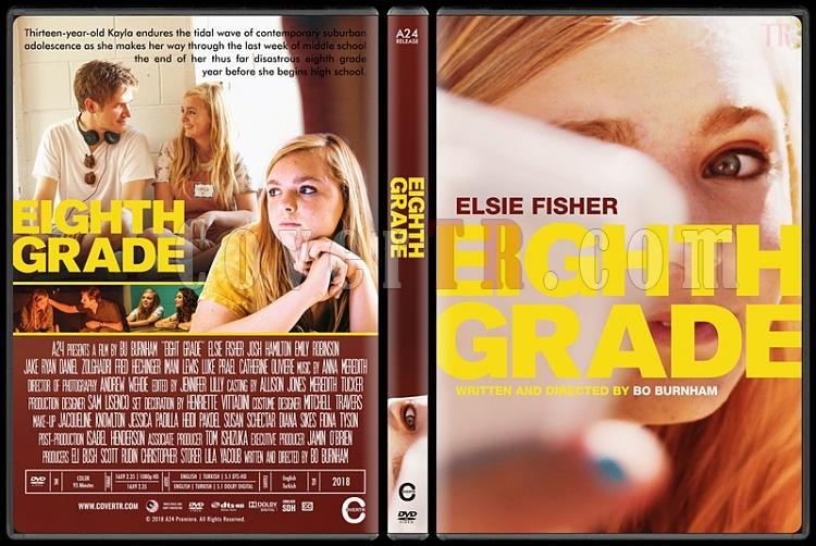Eighth Grade - Custom Dvd Cover - English [2018]-03jpg