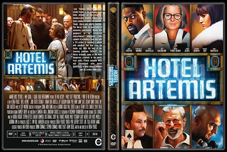 Hotel Artemis - Custom Dvd Cover - English [2018]-04jpg