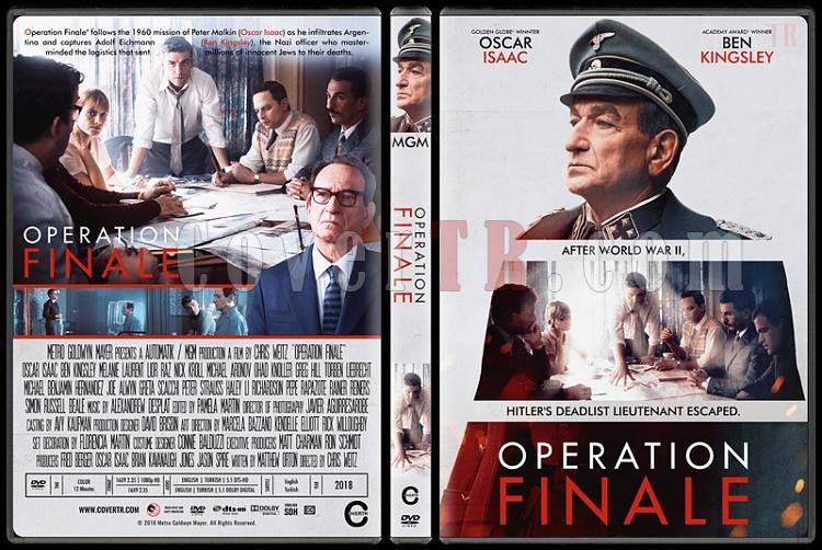 Operation Finale - Custom Dvd Cover - English [2018]-standardjpg