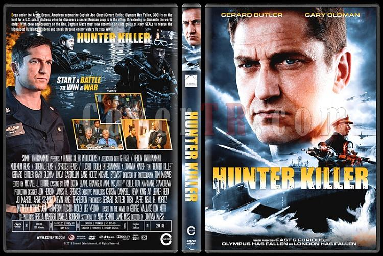Hunter Killer (Katil Avıcısı) - Custom Dvd Cover - English [2018]-01jpg