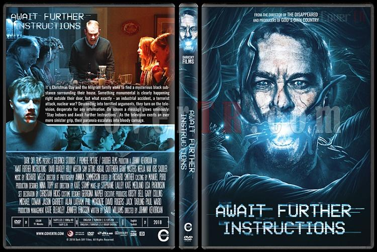 Await Further Instructions - Custom Dvd Cover - English [2018]-2jpg