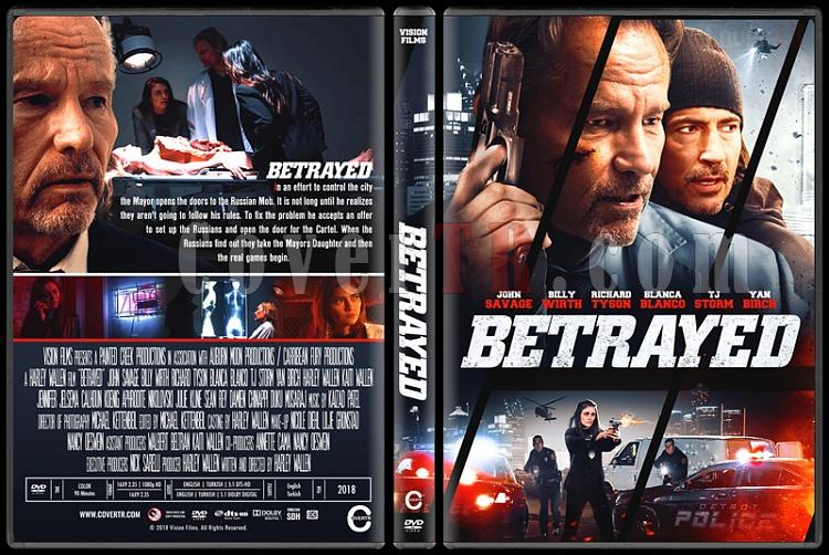 Betrayed (İhanet) - Custom Dvd Cover - English [2018]-01jpg