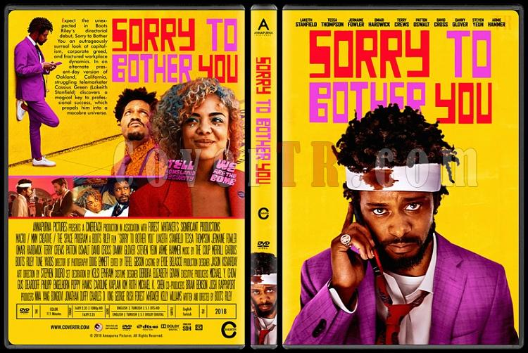 Sorry To Bother You - Custom Dvd Cover - English [2018]-02jpg