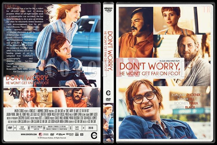 Don't Worry, He Won't Get Far on Foot (Merak Etme, Fazla Uzaklaşamaz) - Custom Dvd Cover - English [2018]-01jpg
