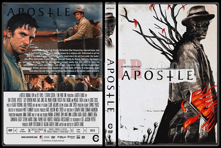 Apostle (Havari) - Custom Dvd Cover - English [2018]-1jpg