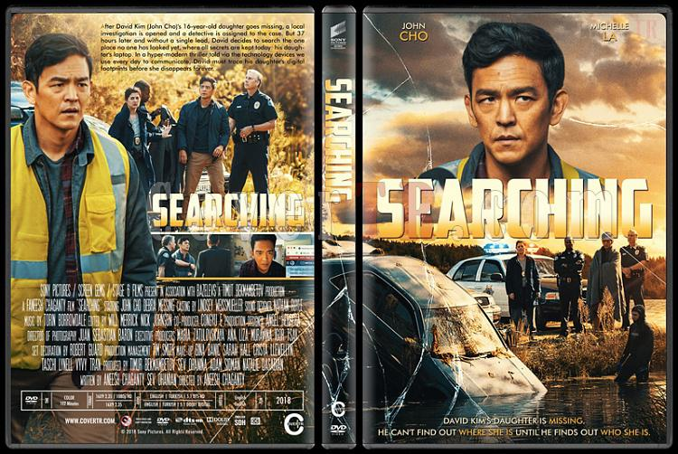 Searching (Kayıp Aranıyor) - Custom Dvd Cover - English [2018]-2jpg
