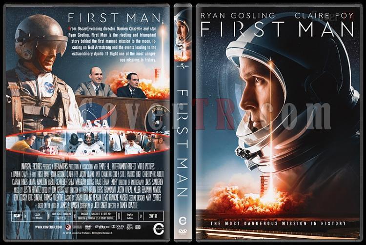 First Man (Ay'da İlk İnsan) - Custom Dvd Cover - English [2018]-01jpg