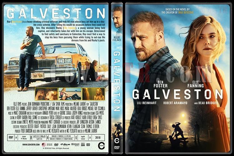 Galveston - Custom Dvd Cover - English [2018]-1jpg