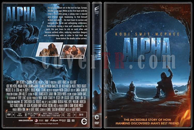 Alpha (Alfa Kurt) - Custom Dvd Cover - English [2018]-3jpg