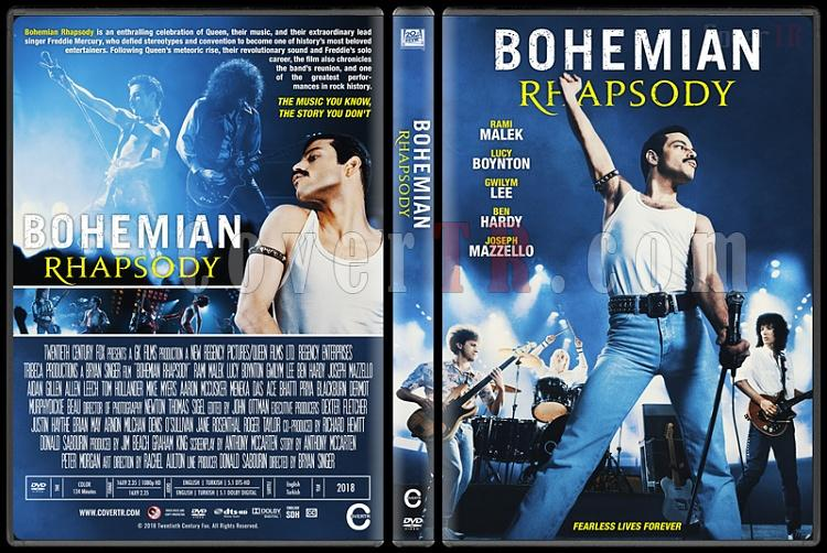 Bohemian Rhapsody - Custom Dvd Cover - English [2018]-1jpg