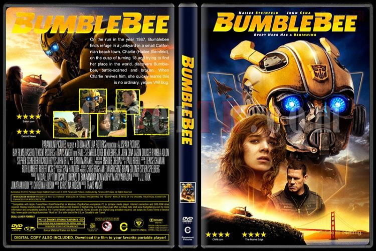 Bumblebee - Custom Dvd Cover - English [2018]-3jpg