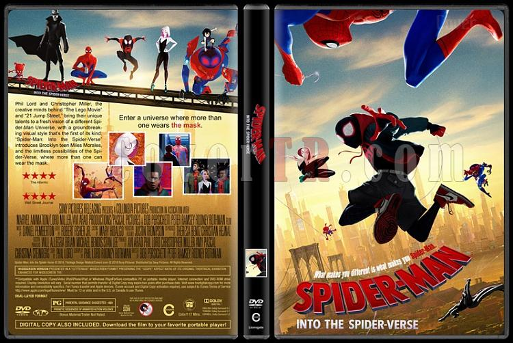 Spider-Man: Into the Spider-Verse (Örümcek-Adam: Örümcek Evreninde) - Custom Dvd Cover - English [2018]-5jpg
