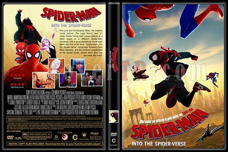 Spider-Man: Into the Spider-Verse (Örümcek-Adam: Örümcek Evreninde) - Custom Dvd Cover - English [2018]-4jpg