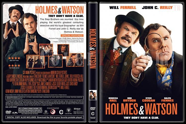 Holmes & Watson - Custom Dvd Cover - English [2018]-1jpg