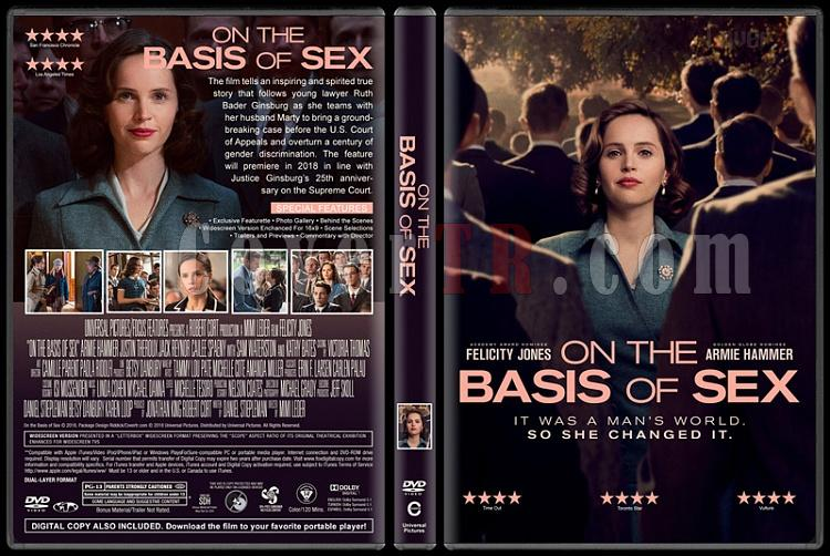 On the Basis of Sex (Eşitlik Savaşçısı) - Custom Dvd Cover - English [2018]-2jpg