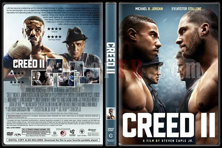 Creed II (Creed II: Efsane Yükseliyor) - Custom Dvd Cover - English [2018]-2jpg