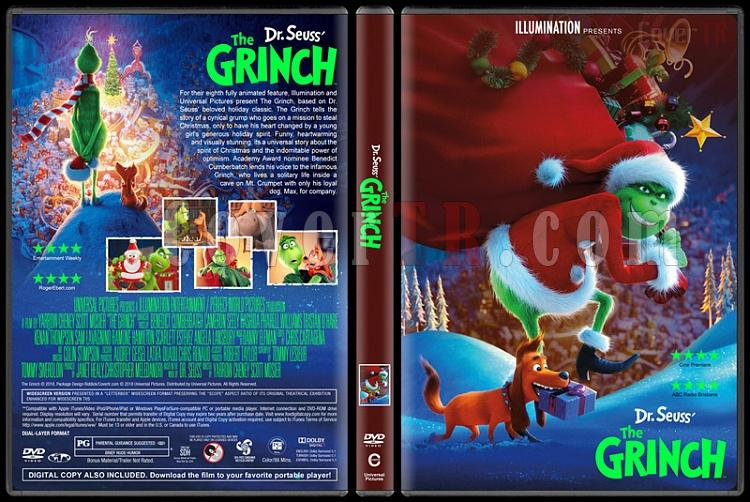 The Grinch (Grinç) - Custom Dvd Cover - English [2018]-3jpg