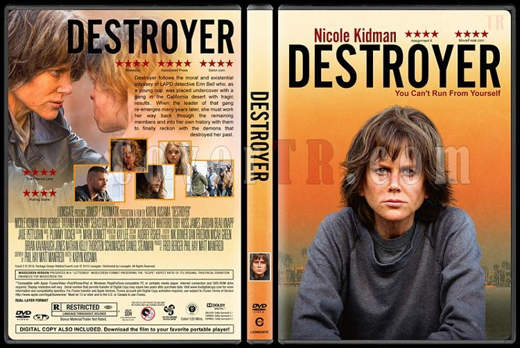 Destroyer - Custom Dvd Cover - English [2018]-4jpg