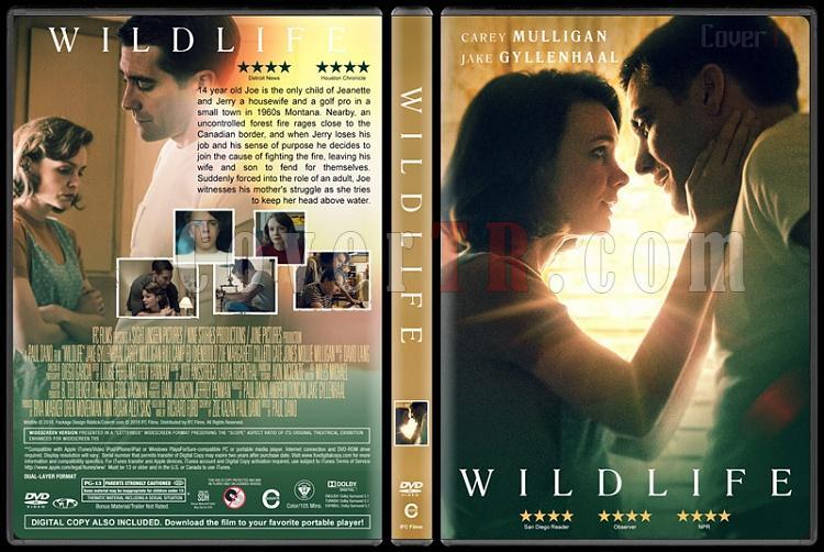 Wildlife (Yangın Yeri) - Custom Dvd Cover - English [2018]-1jpg