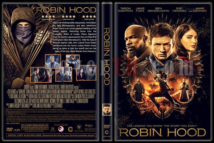 Robin Hood - Custom Dvd Cover - English [2018]-2jpg