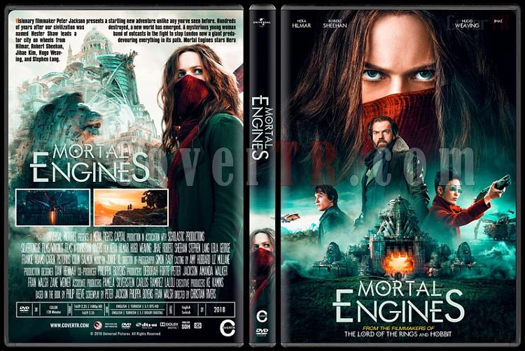 Mortal Engines (Ölümcül Makineler) - Custom Dvd Cover - English [2018]-1jpg