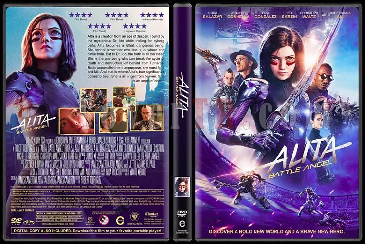 Alita: Battle Angel (Alita: Savaş Meleği) - Custom Dvd Cover - English [2019]-1jpg