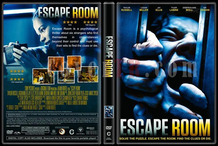 Escape Room (Kaçış Odası) - Custom Dvd Cover - English [2019]-2jpg