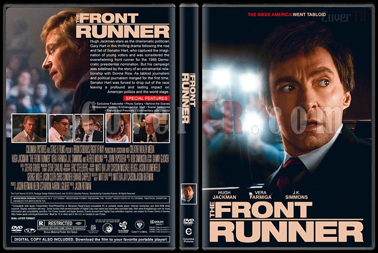 The Front Runner (Baş Aday) - Custom Dvd Cover - English [2019]-1jpg