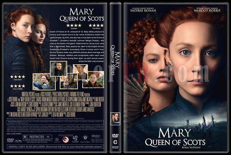 Mary Queen of Scots (İskoçya Kraliçesi Mary) - Custom Dvd Cover - English [2018]-1jpg
