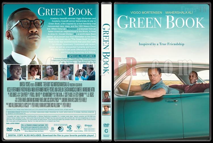 Green Book (Yeşil Defter) - Custom Dvd Cover - English [2018]-03jpg