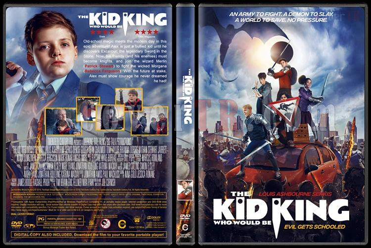 The Kid Who Would Be King (Kral Olacak Çocuk) - Custom Dvd Cover - English [2019]-04jpg