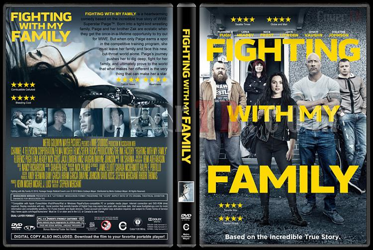 Fighting with My Family - Custom Dvd Cover - English [2019]-05jpg