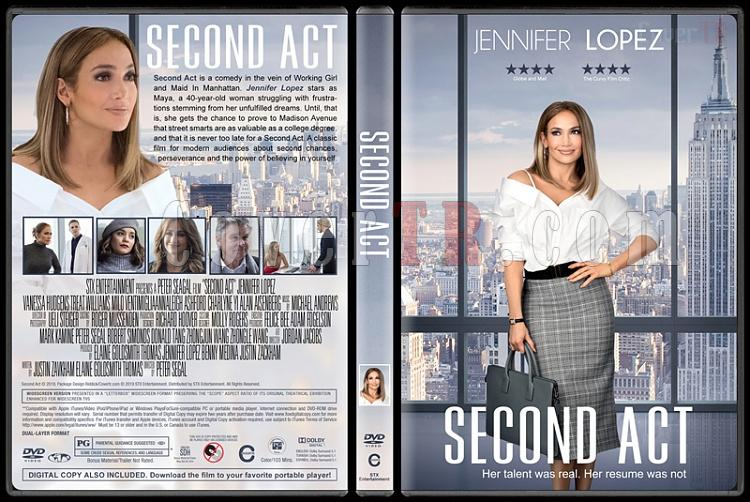 Second Act (Hayatım Yalan) - Custom Dvd Cover - English [2019]-03jpg