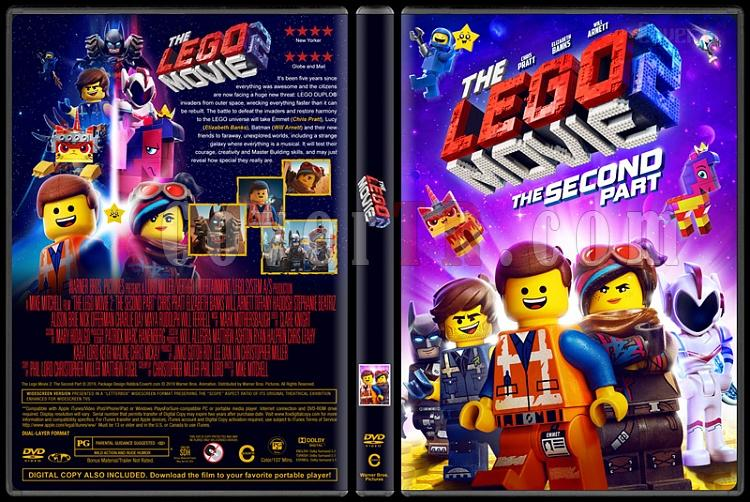 The Lego Movie 2 The Second Part Lego Filmi 2 Custom Dvd Cover