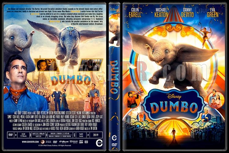 Dumbo - Custom Dvd Cover - English [2019]-4jpg
