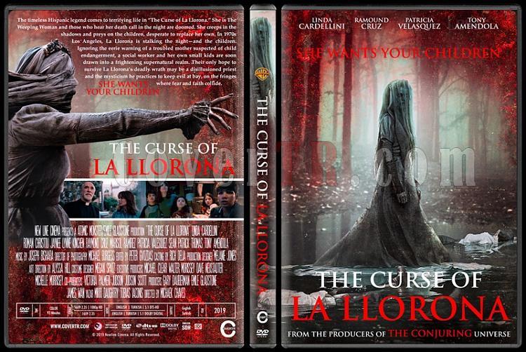 The Curse of La Llorona (Lanetli Gözyaşları) - Custom Dvd Cover - English [2019]-01jpg