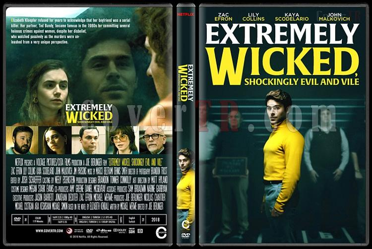 Extremely Wicked, Shockingly Evil and Vile - Custom Dvd Cover - English [2019]-1jpg